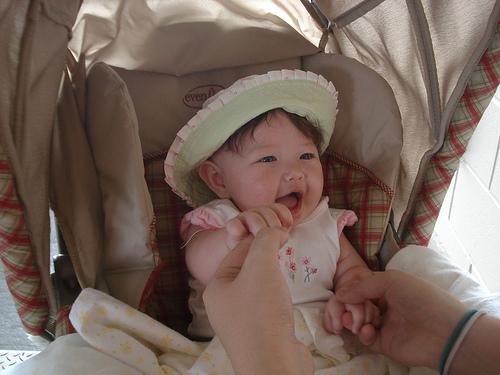 Bella at the zoo