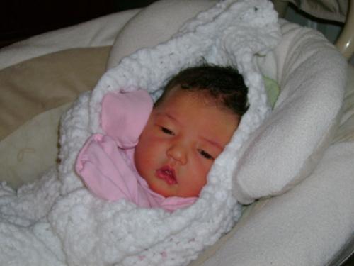 Just born in Heavenly Blanket