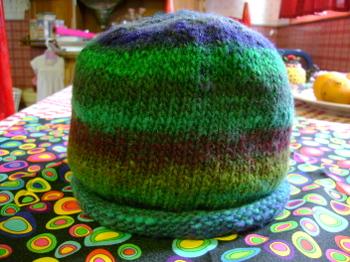Helix Striped Cap